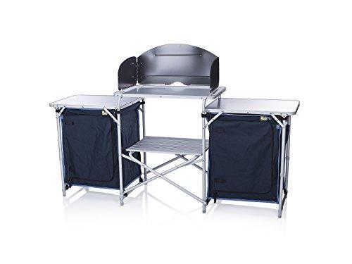 41aVrqB0YKL - Campart Travel KI-0732 Camping Kitchen Malaga, 172 x 48 x 79.5/110.5cm