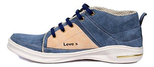 Prado Fashions Men's Blue colour Sneakers Shoes