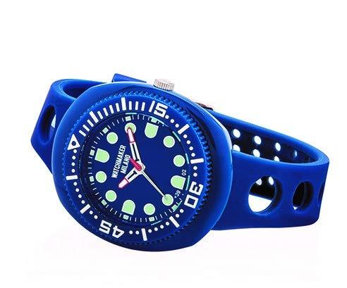 Watchmaker Milano Sub Herrenarmbanduhr Submariner Vintage Quarzwerk, 70er Jahre blau