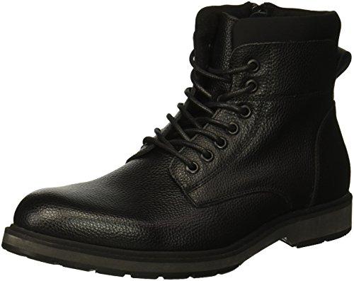 Kenneth Cole REACTION Herren Drue Combat Boots, Schwarz (Black 001), 43 EU - Reaction-schuhe Cole Kenneth Schwarz