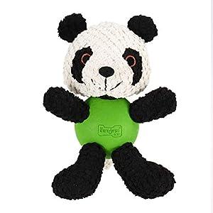 Der Körper eines Panda-Hundes Plüsch-Spielzeug ist ein Gummiball, der ein Quietschen macht, wenn der Hund es beißt, die Aufmerksamkeit des Hundes verursacht und den Spaß der Interaktion erhöht. Nach ISO9001 Zertifizierung von Qualitätssicherungssyste...