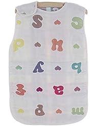 saco de dormir del bebé NWYJRPies calientes kick algodón bebé saco suave acogedor Anti lecho Swaddle Wrap apto para recién nacidos