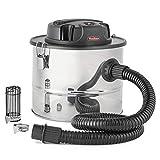 VonHaus 15L Ash Vacuum Cleaner | 800W | Includes Protective Gauze, Crevice Tool