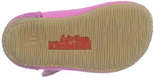 Living Kitzbühel Baby Ball. Herz/vogel, Chaussons premiers pas bébé fille Rose - Pink (pink 340)