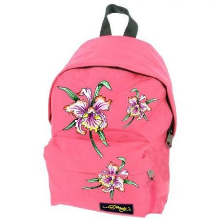 Ed Hardy Shane Iris Backpack - Hot Pink  available at amazon for Rs.2193