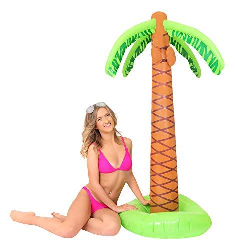 Aufblasbare Palme Party Accessoire Tropical Plant Beach Party Dekoration Ilovefancydress® Größe: Höhe 160cm 5ft10