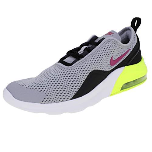 Nike Air MAX Motion 2 (GS), Zapatillas de Atletismo para Niños, (Wolf GreyRush PinkAnthraciteBlack 000), 37 EU