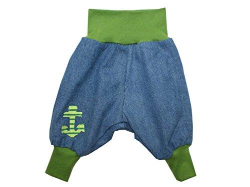 """Baby Jeanshose """"Anker"""" grün Gr. 62 - 104 von Kleine Könige Größe 98/104, Farbe pink"""