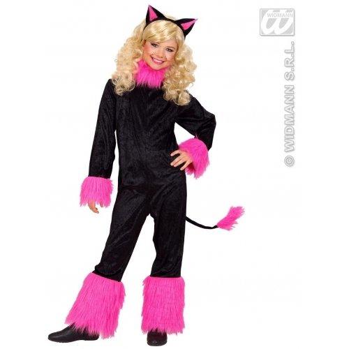 WIDMANN Kinderkostüm für Katzen, Größe L, 11-13 Jahre, 158 cm (Costume Girl Jungle)