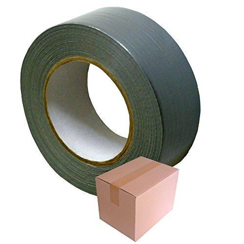ALLZWECK-KLEBEBAND T024-Silber, 50 mm x 50 m / Krt a 24 Rollen