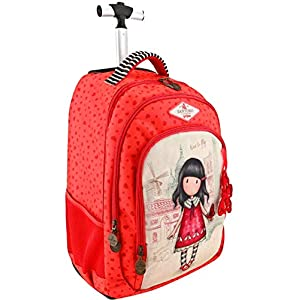 Gorjuss – Mochila Escolar Trolley Gorjuss – Time To Fly – -5% En Libros