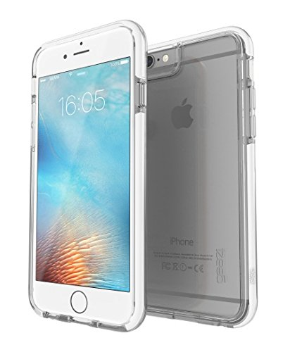 Gear4 IC6S08D3 D3O IceBox Ice Schutzhülle für Apple iPhone 6/6s klar/weiß - Ice Clear Case Iphone