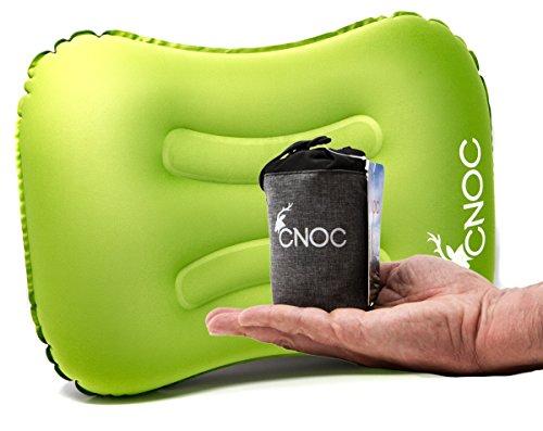 CNOC Premium ultraleichtes aufblasbares Reisekissen & Camping Kissen | Outdoor Kissen - ideal für...
