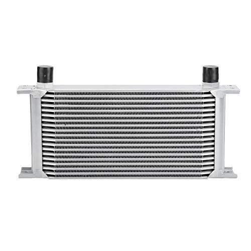 Radiatore radiatore olio, motore universale di tipo britannico a 19 ranghi Motore radiatore olio Kit di montaggio del sistema di raffreddamento del radiato