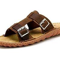 NTX/Herren Schuhe Outdoor/Casual Leder Hausschuhe braun