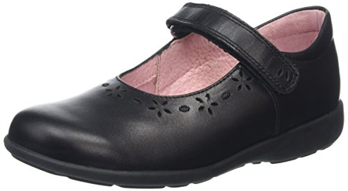 Start Rite Emily, Mary Jane fille Noir (Black)
