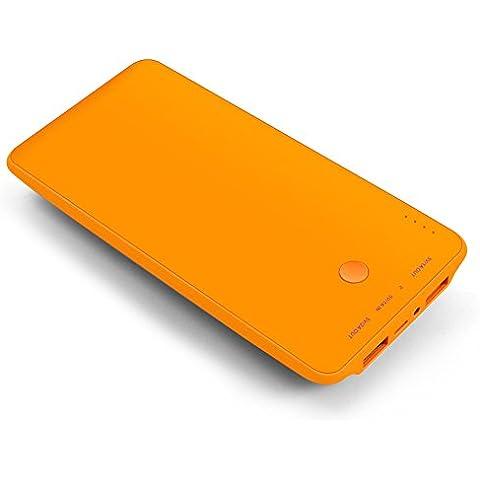 Bakth LP-10000-KS10 - Batería externa (Li-po, 10000 mAh, USB), color naranja