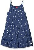 s.Oliver Mädchen Kleid 53.805.82.2818, Blau (Dark Blue Multicol.Stripe 57s0), 116