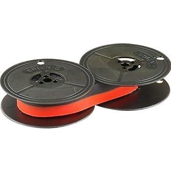 Ink Ribbon for DIN 2103 - 53 mm Diameter - Black/Red