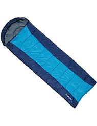 TOMSHOO Encapuchado Saco de dormir Grueso Térmico para Adultos de (190 + 30) X 75 CM Multifunción para Acampa Senderismo Al aire libre 0-15 ℃