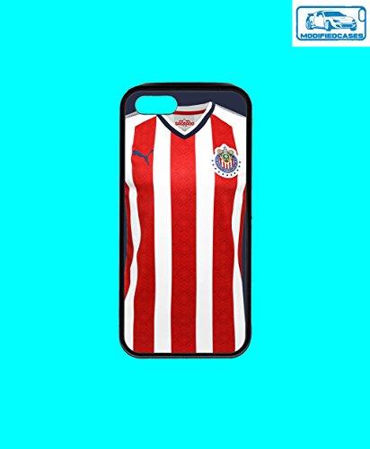Fußball Teams Bumper Case iPhone 5/5S, Chivas Jersey 2018 (Jersey Chivas)
