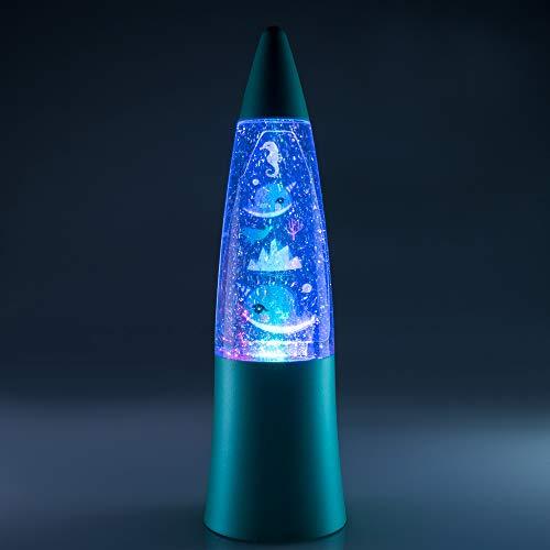 Lámpara de lava de Narvales- Narwhal Lamp