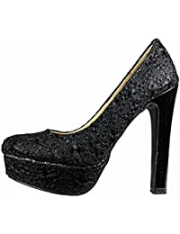 Damen Pumps Plateau Stiletto High Heel Schuhe 10319n