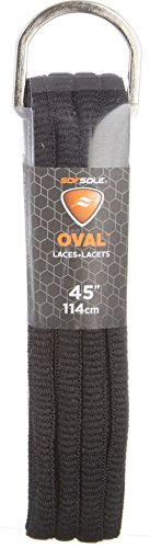 Sof Sole Athletic Oval Lace Black 45