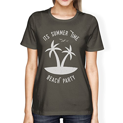 365 Printing - Top - Maniche corte  - Donna It's Summer Time Beach Party