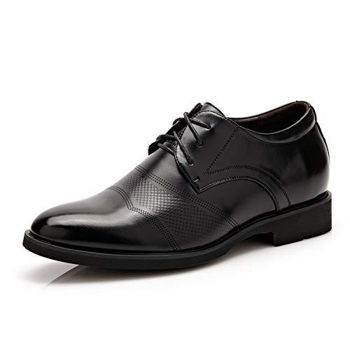 Qianliuk Männer Kleid Schuhe Split Leder Oxford Schuhe Höhe Zunehmende Hochzeit Business Schuhe für Männer -