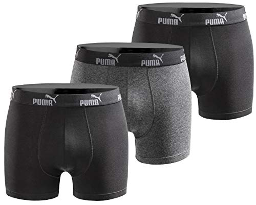 Puma Herren Boxershort Limited Statement Edition 3er Pack - Black - Gr. XL