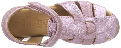 Bisgaard  Sandals, Sandales Bout ouvert mixte enfant Rose (08 Glitte- rose)