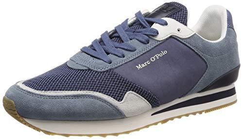 Marc O\'Polo 90224363501315 Herren  Sneaker, Blau (denim 870), 44 EU (9.5 UK)