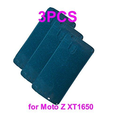 vorgeschnittenen Front Rahmen Lünette Frontplatte, Digitizer Glas Klebstoff Klebeband für Motorola Moto Z xt1650 Motorola Cell Phone Faceplates