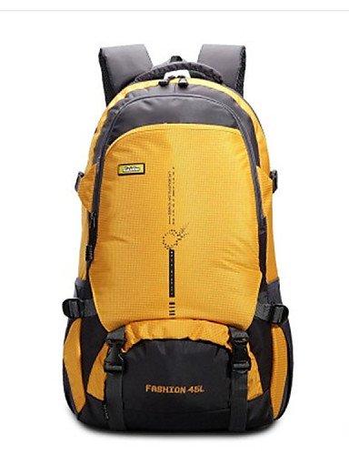 ZQ 45L L Tourenrucksäcke/Rucksack / Gepäck / Travel Duffel Camping & Wandern / Angeln / Klettern / Jagd / ReisenIndoor / Outdoor / Leistung Yellow