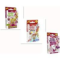 Wundmed 3er Kinderpflaster verschiedene Motiv Prinzessin+Pirat+Einhorn, 3 Pack, 30 Stücke preisvergleich bei billige-tabletten.eu