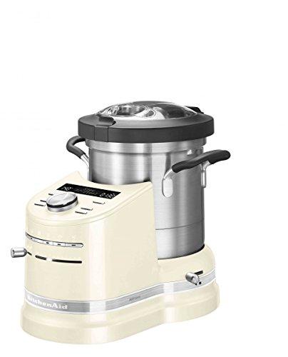 KitchenAid Cook Processor Artisan Küchenmaschine Leistung 1500Watt Volumen 4.5Liter 5kcf0103eac Farbe Creme (Leistung Volumen)