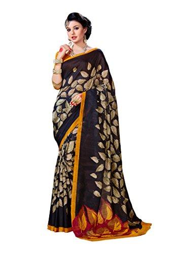 Samskruti Sarees Women\'s Exclusive Printed Art Silk Saree (SVIM-9001)