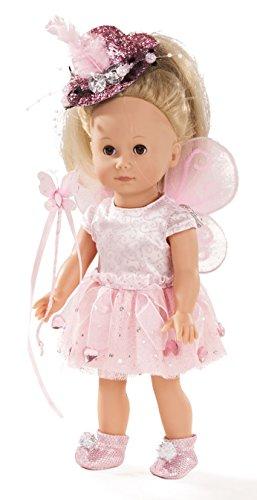Götz 1613027 Just Like me - Paula die Fee Puppe - 27 cm große Stehpuppe mit Langen blonden Haaren und braunen Schlafaugen - für Kinder ab 3 Jahren (Trägern Mit Baby-puppen)