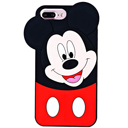117d96a4587 Leosimp Mickey Couple Case for iPhone 8 7 Plus 6s/6 Plus 5.5