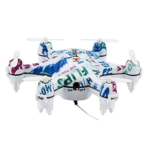 Dayan Anser Mini Hexacopter,CX-37 Height Hold RC Helicopter, Wifi FPV Micro Drone With 0.3MP Camera, Cheerson Nano Vehicle Fast Drift Toys With Mobile Phone Control, One Key Take Off/Landing (White)