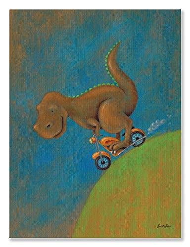 Oopsy Daisy Dinosaurier Dash T Rex von Sarah Lowe Leinwand Wand Art, 18by 24