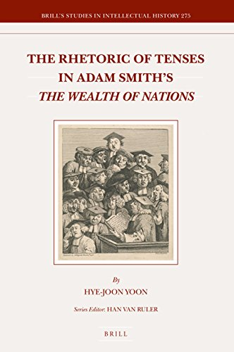 The Rhetoric of Tenses in Adam Smith's the Wealth of Nations (Brill's Studies in Itellectual History) por Hye-Joon Yoon