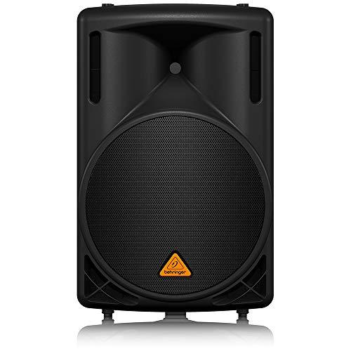 Behringer B215D Eurolive 2-Wege PA-Lautsprecher mit 38,1 cm (15 Zoll) woofer (550 Watt), schwarz