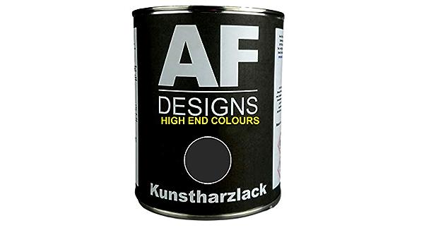 Alex Flittner Designs 1 Liter Kunstharzlack Für Deutz Chassis Schwarz Lkw Nfz Lack Landmaschine Seidenmatt Auto