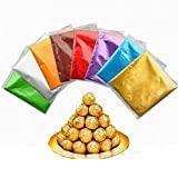 OSAYES 100 Pieces Alluminium Foil Natale Candy Wrappers Chocolate Wrapper per Natale DIY Candies e Chocolate Packaging