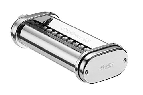 41aWJQ3C5kL - KitchenAid 5KSMPRA Pasta Sheet Roller and Cutter Set, 3-Piece (Optional Accessory for KitchenAid Stand Mixers)