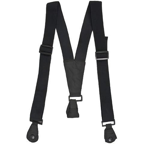 Trespass, Bretelle per pantaloni da sci, Nero