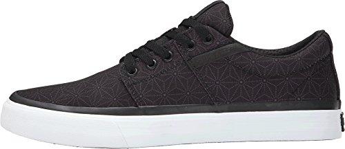 Supra  STACKS VULC II, Sneakers basses hommes - Black print - white