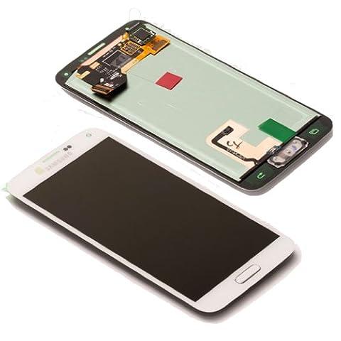 AFFICHAGE LCD ÉCRAN TACTILE SAMSUNG GALAXY S5 SM-G900F SERVICE PACK BLANC BOMAItalia